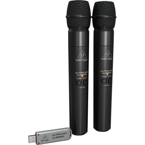 Behringer Ultralink ULM202-USB 2.4 GHz Dual Wireless ULM202-USB