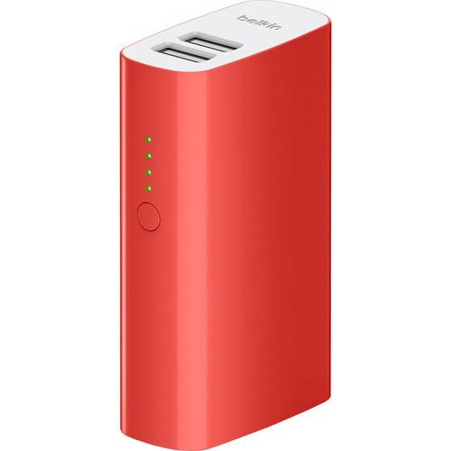 Belkin 4000 mAh MIXIT Power Pack (Red) F8M979BTRED