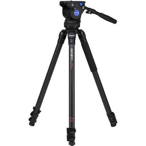 Benro BV4 Carbon Fiber Video Tripod Kit C373FBV4H