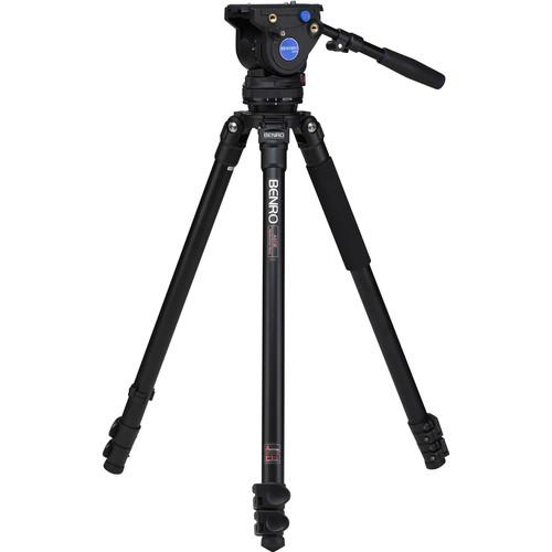 Benro BV4H Video Head & A373F Series 3 Tripod Legs A373FBV4H