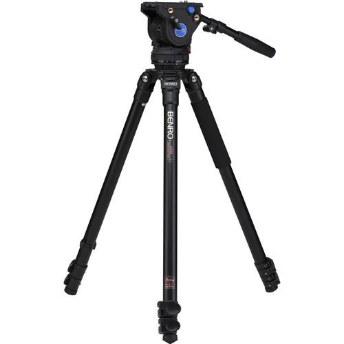 Benro  BV6 Aluminum Video Tripod Kit A373FBV6H