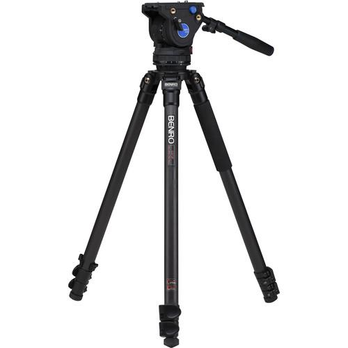 Benro BV6 Carbon Fiber Video Tripod Kit C373FBV6H
