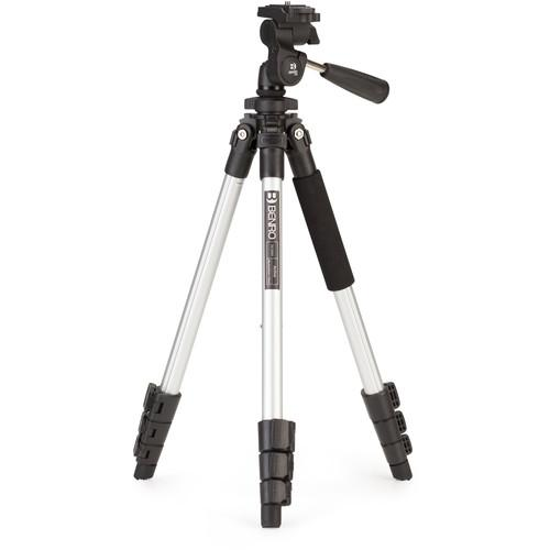 Benro TAC008AP0 Active Aluminum Tripod with P0 3-Way TAC008AP0