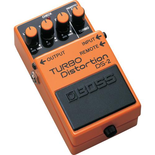 BOSS  DS-2 Turbo Distortion Pedal DS-2