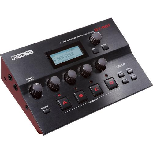 BOSS GT-001 Desktop Guitar Effects Processor GT-001