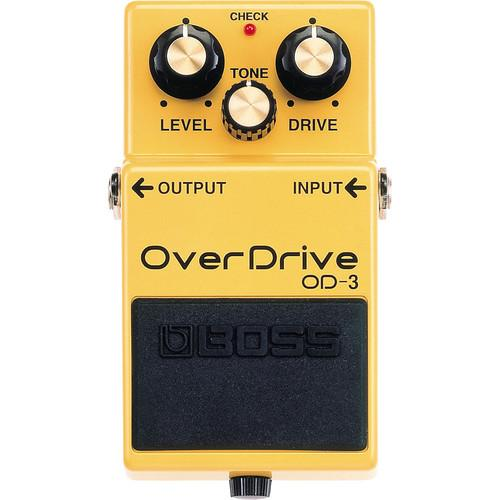 BOSS  OD-3 OverDrive Guitar Pedal OD-3