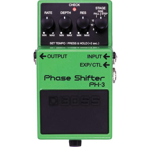 BOSS  PH-3 Phase Shifter Pedal PH-3