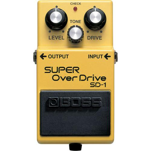 BOSS  SD-1 Super Overdrive Guitar Pedal SD-1