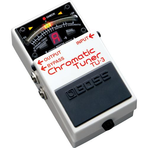 BOSS TU-3 Chromatic Tuner for Electric & Bass Guitars TU-3