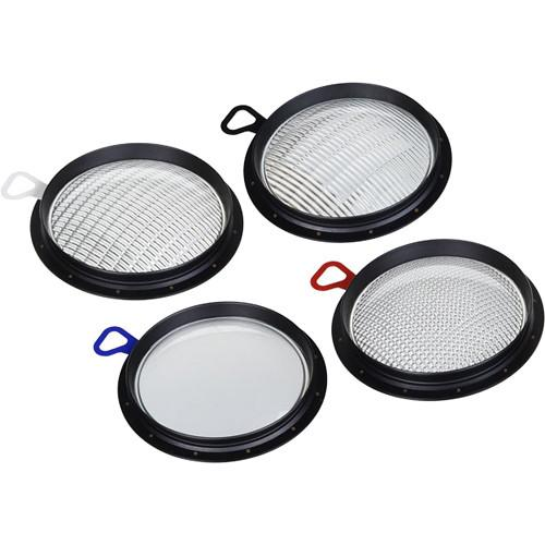 Broncolor Set of PAR Lenses for HMI F200 Lamp Head B-43.131.00