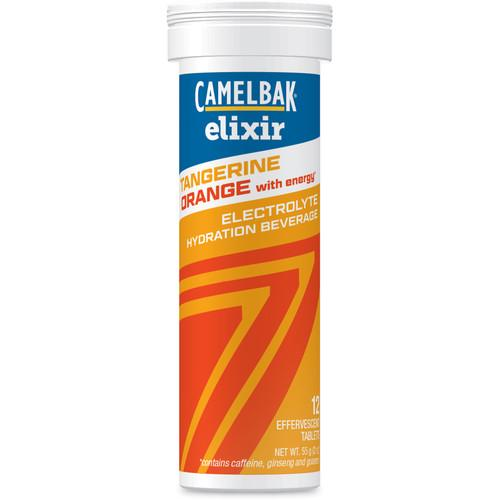 CAMELBAK 12-Pack of Elixir Hydration Tablets with Caffeine 90956