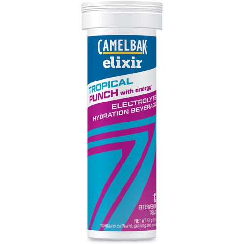 CAMELBAK 12-Pack of Elixir Hydration Tablets with Caffeine 90957