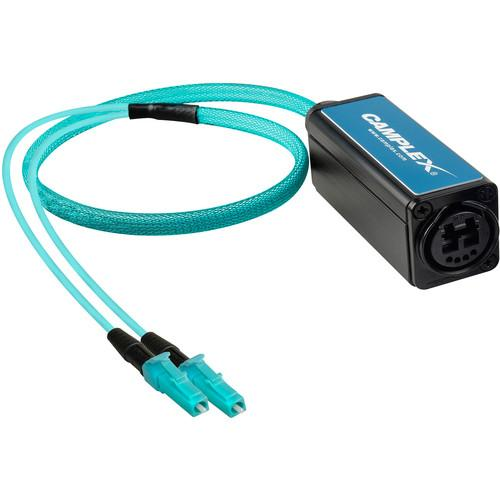 Camplex OPADAP-5 opticalCON DUO to Duplex ST Breakout OPADAP-5