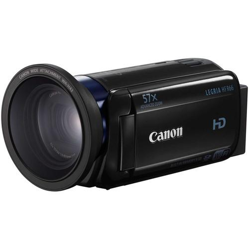 Canon LEGRIA HF R66 Full HD Camcorder with 8GB of 0279C003AA