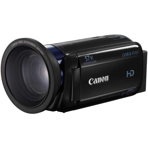 Canon LEGRIA HF R67 Full HD Camcorder with 8GB of 0279C006AA