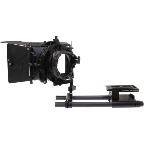 Cavision 3 x 3 Swing-Away Matte Box with 15mm MB3485S-15RSA-DSLR
