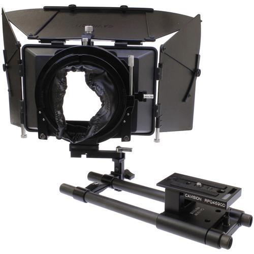 Cavision 4 x 5.65 Matte Box Package with 15mm MB4512-15RSA-DSLR