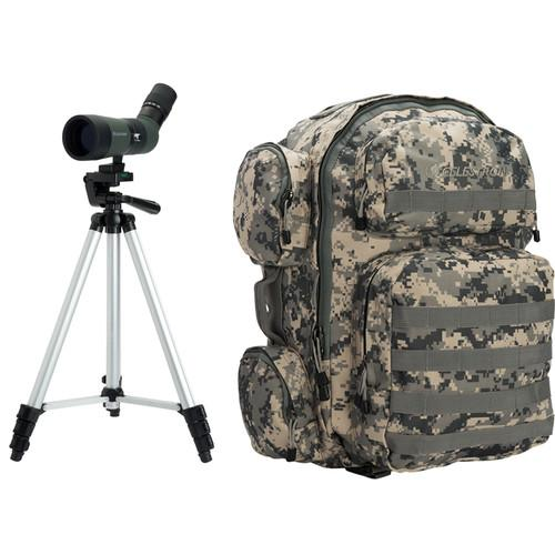 Celestron LandScout 60mm Spotting Scope Backpack Kit 52325