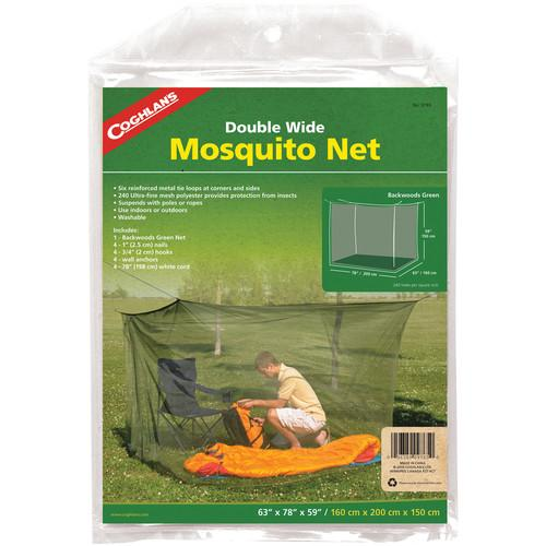 Coghlan's Double Wide Mosquito Net (Green, 240 Mesh) 9765