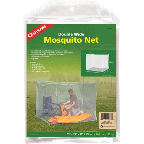 Coghlan's Double Wide Mosquito Net (White, 180 Mesh) 9760