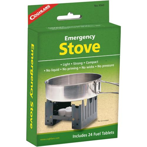 Coghlan's Emergency Stove with 24 Fuel Tablets 9560