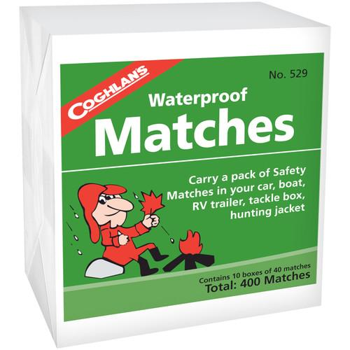 Coghlan's  Waterproof Matches (10 Box Pack) 529