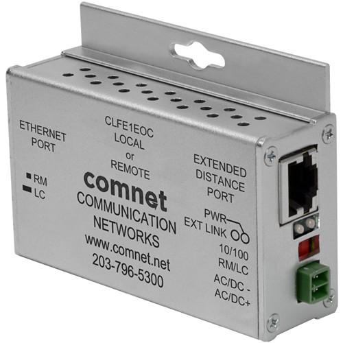 COMNET CLFE1EOC Single-Channel Ethernet Extender over CLFE1EOC