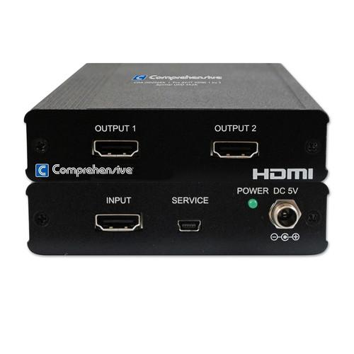 Comprehensive Pro AV/IT HDMI 1 x 2 Splitter UHD 4K CDA-HD200EK