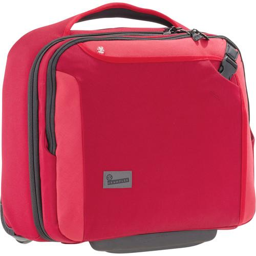Crumpler Dry Red No. 9 Laptop Briefcase on Wheels DRD002-R00170