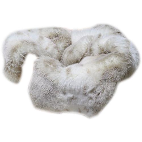 Custom Photo Props Rabbit Faux Fur Basket Stuffer Newborn 1303