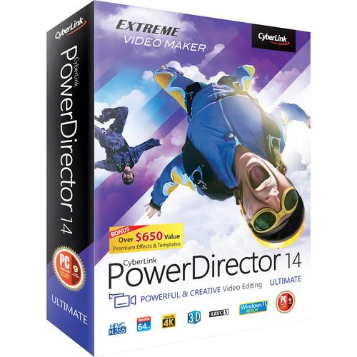 CyberLink PowerDirector 14 Ultimate PDR-EE00-RPM0-00