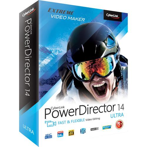CyberLink PowerDirector 14 Ultra (Windows, DVD) PDR-EE00-RPU0-00