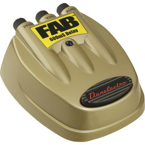DANELECTRO  Fab 600mS Delay Pedal D-8