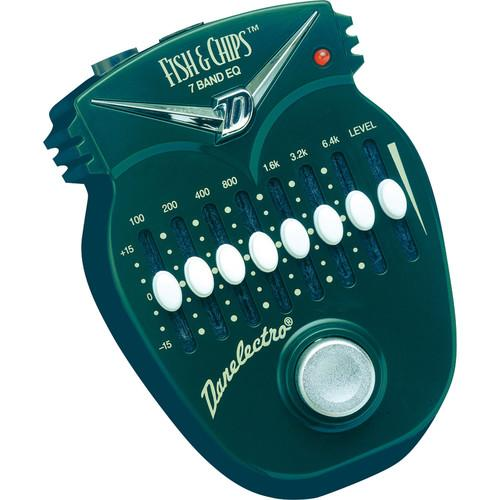 DANELECTRO Fish & Chips 7-Band Graphic EQ Pedal DJ-14
