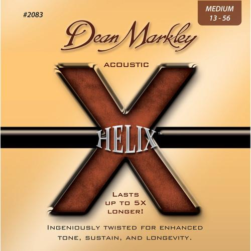 Dean Markley 2083 Helix Acoustic Guitar Strings DM2083