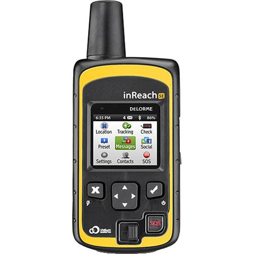 DeLorme inReach SE Global Satellite Communicator AG-009871-201
