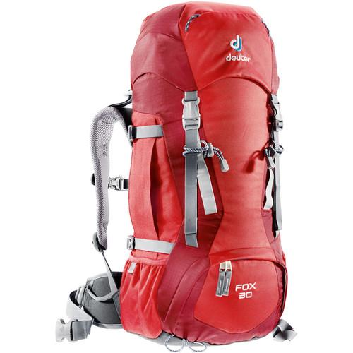Deuter Sport Fox 30 Backpack (Fire/Cranberry) 36053-5520