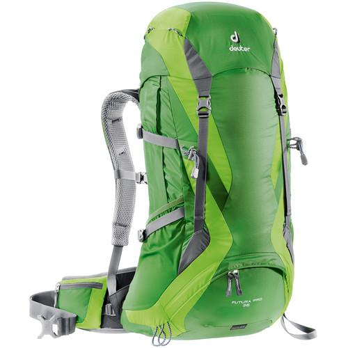 Deuter Sport Futura Pro 36 Backpack (Emerald/Kiwi) 34274-2208