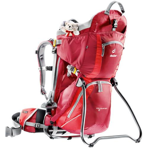 Deuter Sport Kid Comfort 2 Backpack (Cranberry/Fire) 46514-5560