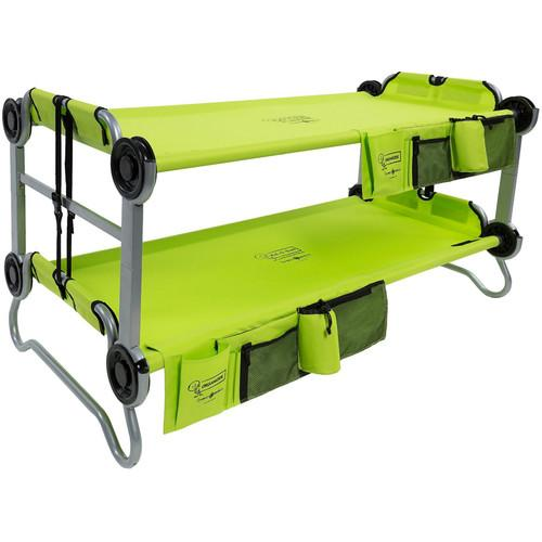 Disc-O-Bed Lime Green Kid-O-Bunk with Organizers 30005BO