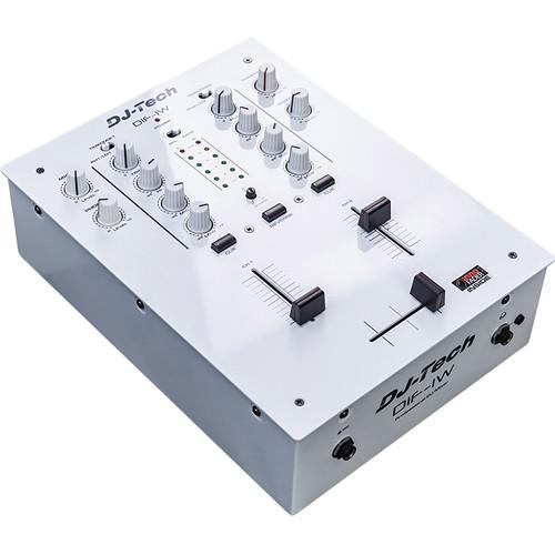 DJ-Tech  DIF-1W 2-Channel DJ Mixer (White) DIF1W