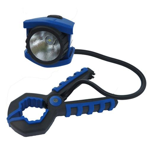 Dorcy 41-1251 Adjustable Clamp Light (Blue & Black) 41-1251