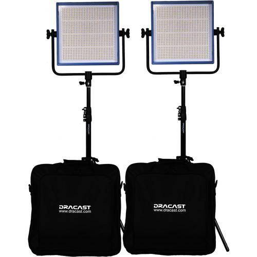 Dracast Dracast LED1000 Pro Daylight LED 2-Light DR-LK-2X1000-DG