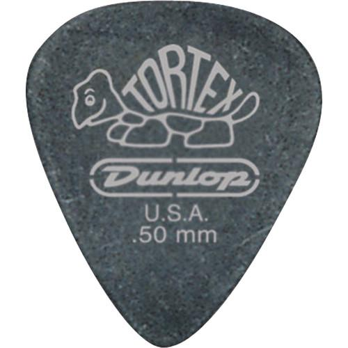 Dunlop 488P.73 Tortex Pitch Black, Players-Pack Guitar 488P73