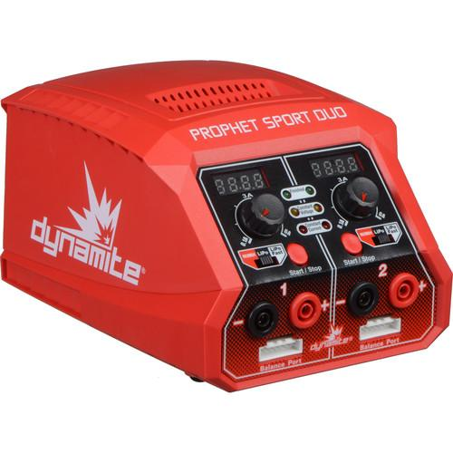 Dynamite Prophet Sport Duo Dual 50W AC Battery Charger DYNC2020A