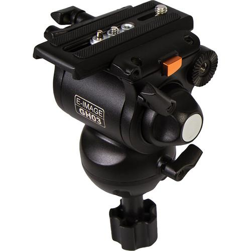 E-Image  GH03 Fluid Head with 75mm Ball GH03
