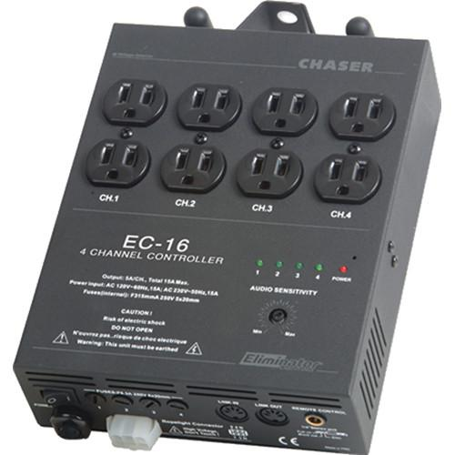 Eliminator Lighting EC-16 4-Channel Light Controller EC16