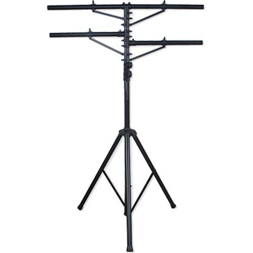 Eliminator Lighting Tri-33 Tripod Stand Two T-bars (12') E133
