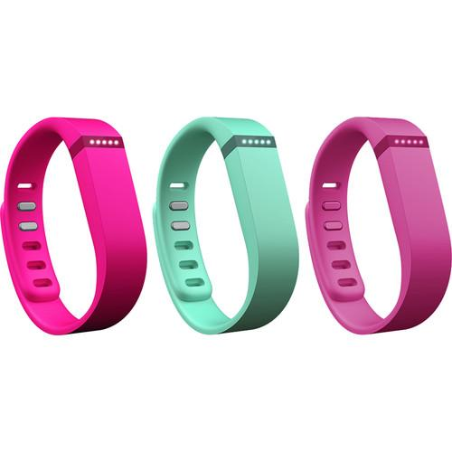 Fitbit Flex Replacement Band Vibrant 3-Pack FB401BVTPL