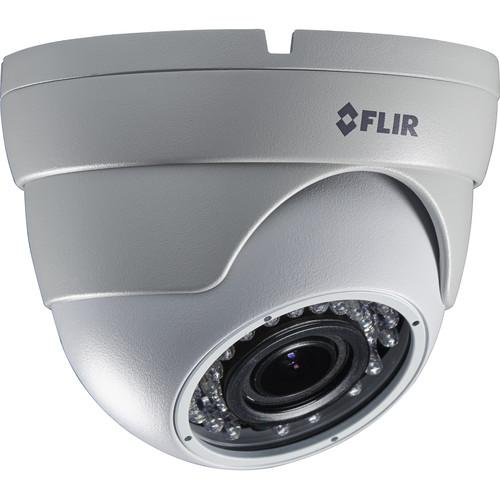 FLIR MPX 1.3 MP Outdoor Dome Camera with 2.8 to 12mm C237EC